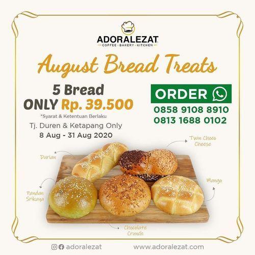 Adoralezat August Bread Treats (27306391) di Kota Jakarta Selatan