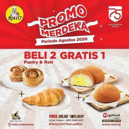 PROMO ROTIO MERDEKA BELI 2 GRATIS 1 (27314551) di Kota Jakarta Selatan