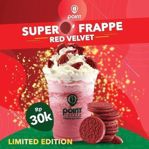POINT COFFEE SUPER FRAPPE RED VELVET (27315923) di Kota Jakarta Selatan
