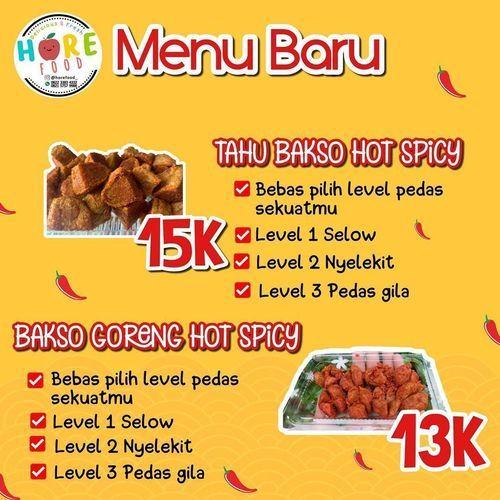 HORE FOOD PROMO MENU BARU (27316055) di Kota Jakarta Selatan