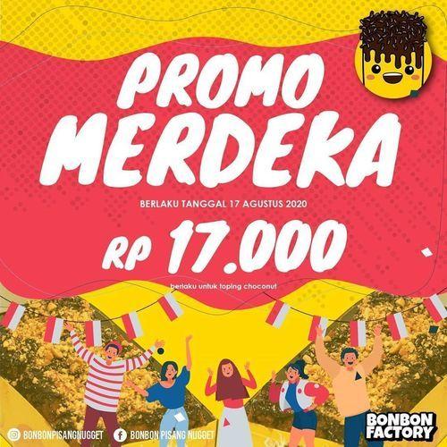 BONBON PISANG NUGGET PROMO MERDEKA RP 17000 (27318315) di Kota Jakarta Selatan