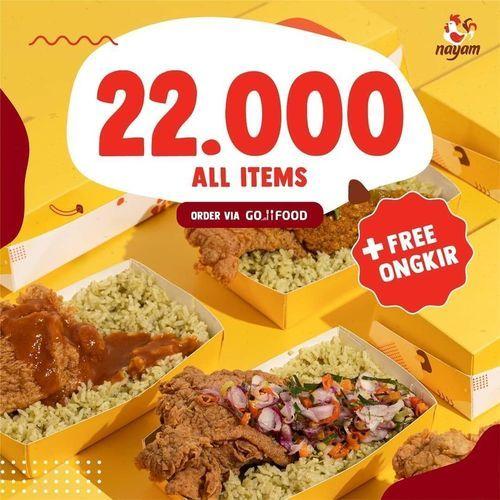 NAYAM Promo 22.000 All Items (27328455) di Kota Jakarta Selatan