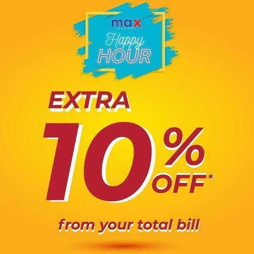 MAX Fashion Extra 10% Off (27328467) di Kota Jakarta Selatan