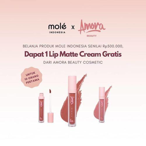 Mole Indonesia Free 1 Lip Matte Cream (27328471) di Kota Jakarta Selatan