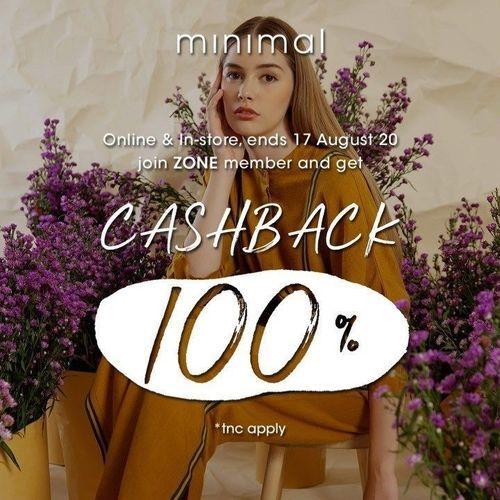 Minimal Stores Get 100% Cashback (27328599) di Kota Jakarta Selatan