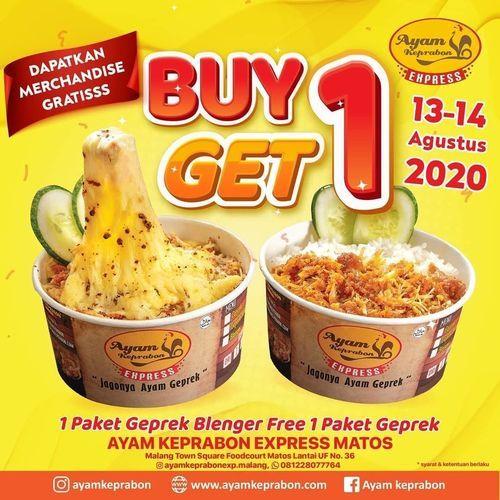 AYAM KEPRABON EXPRESS MATOS ( MALANG TOWN SQUARE ) BUY 1 GET 1 FREE (27342083) di Kota Malang