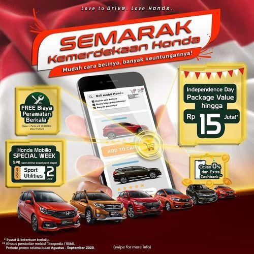 Honda Indonesia Promo Semarak Kemerdekaan (27345695) di Kota Jakarta Selatan