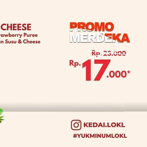 Kedai LOKL Promo Merdeka Rp. 17.000 (27345855) di Kota Jakarta Selatan