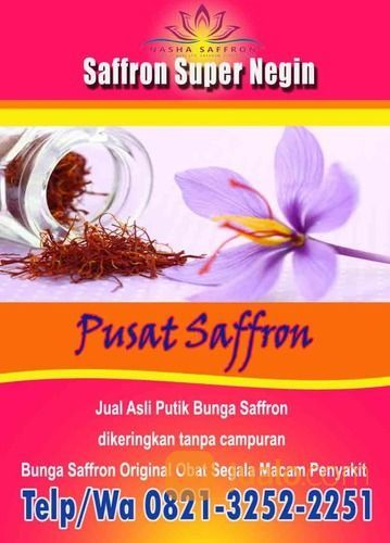 GROSIR !! WA: 0812-3252-225 (Tsel) Harga Bunga Saffron 1 Gram Bandung Bogor (27350587) di Kota Bogor