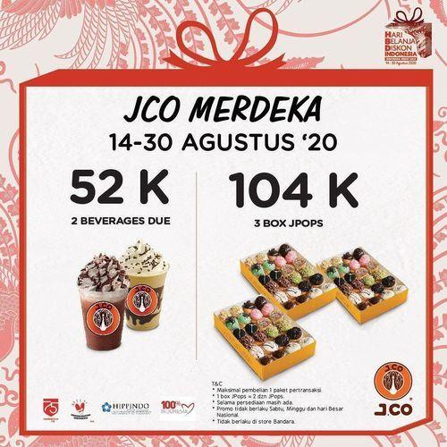 J.CO Donuts & Coffee Promo Merdeka (27351667) di Kota Jakarta Selatan