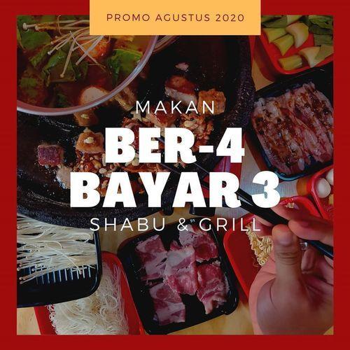 Niku Shabu Grill Makan Ber-4 Bayar 3 (27352031) di Kota Jakarta Selatan