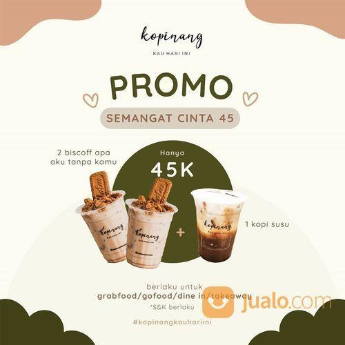 Kopinang Kauhariini Promo Semangat Cinta 45 (27352711) di Kota Jakarta Selatan