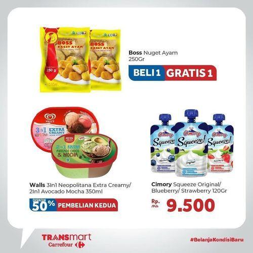 Transmart Carrefour Diskon Gila Gilaan (27355643) di Kota Jakarta Selatan