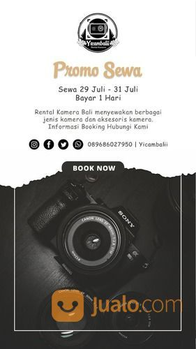 Rental Sewa Kamera Denpasar Bali (27367387) di Kota Denpasar