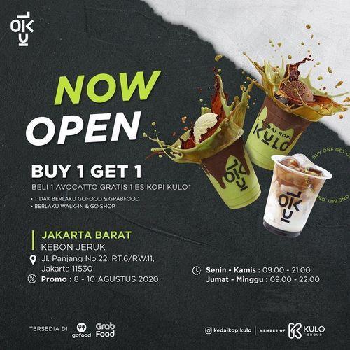 KEDAI KOPI KULO PROMO BELI 1 Avocatto GRATIS 1 Es Kopi Kulo (27380139) di Kota Jakarta Selatan