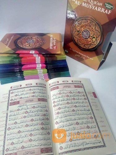 Buku Al-Qur'an Al-Musyaraff : Al-Qur'an Hafalan Perjuz A5 (27401239) di Kab. Kendal
