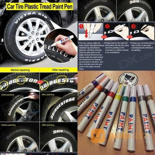 SPIDOL TOYO Spidol Ban Mobil Motor Paint Marker (27411831) di Kota Surakarta