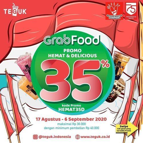 Teguk Diskon Grabfood 35% (27412595) di Kota Jakarta Selatan
