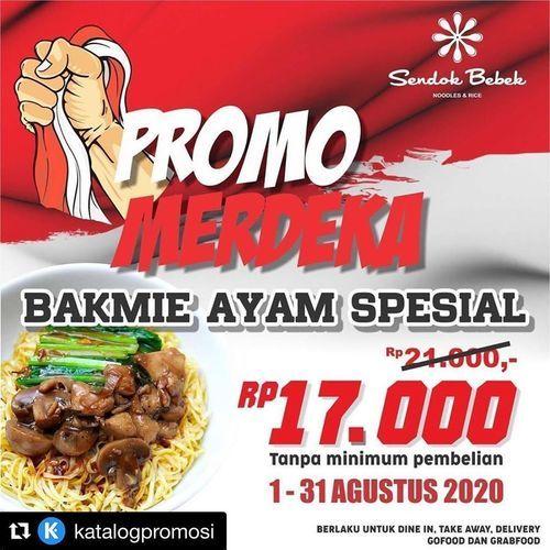 Sendok Bebek Official Promo Merdeka Bakmie Ayam Spesial (27412611) di Kota Jakarta Selatan