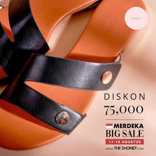 Myooz Shoes Diskon 75.000 Merdeka Big Sale (27430887) di Kota Jakarta Selatan