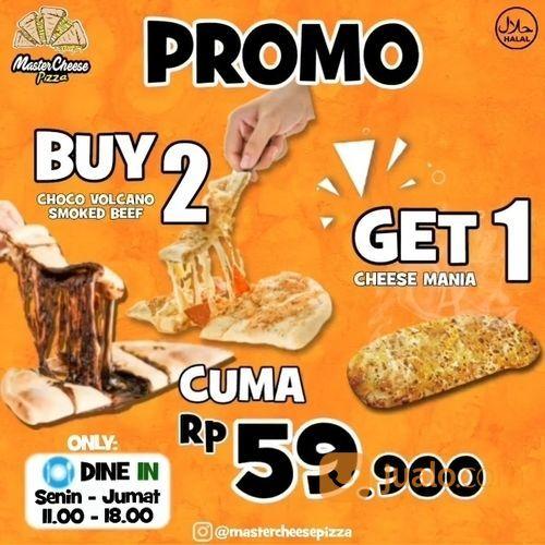 MASTERCHEESE PIZZA PROMO 3 PORSI PIZZA HANYA 59.000 (27446043) di Kota Jakarta Selatan