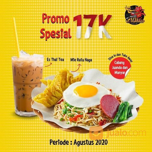 ASTAGA NAGA MIE PROMO SPECIAL 17K AGUSTUSAN BENERAN SERIUSAN (27446267) di Kota Jakarta Selatan
