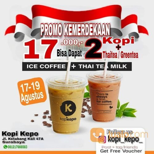 KOPI KEPO PROMO KEMERDEKAAN 17K (27446295) di Kota Surabaya