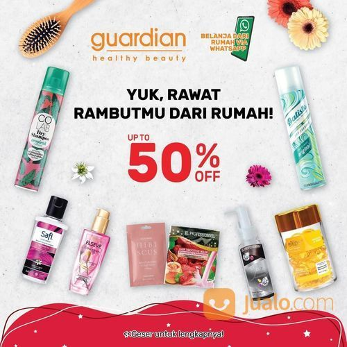 guardian promo hair products up to 50% off (27448615) di Kota Jakarta Selatan