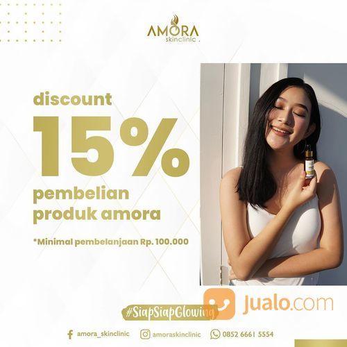 AMORA SKIN CLINIC DISCOUNT 15% PEMBELIAN PRODUK AMORA (27448623) di Kota Jakarta Selatan
