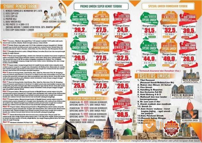 Manfaatkan Umrah Dan Haji Terbaik Untuk Dirimu (27449775) di Kab. Siak