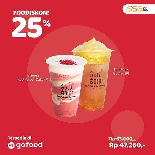 Gulu Gulu Fooddiskon 25% Off Gofood (27487011) di Kota Jakarta Selatan