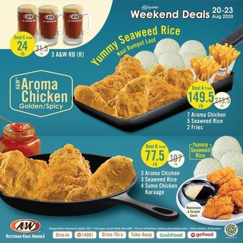 A&W Paket Weekend Deals (27487071) di Kota Jakarta Selatan