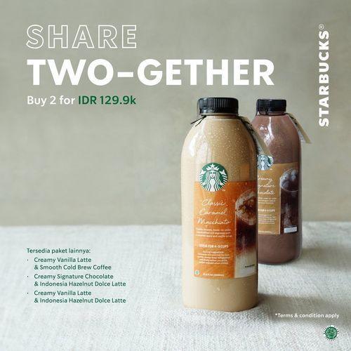 Starbucks Share Two-Gether Special Price (27487075) di Kota Jakarta Selatan