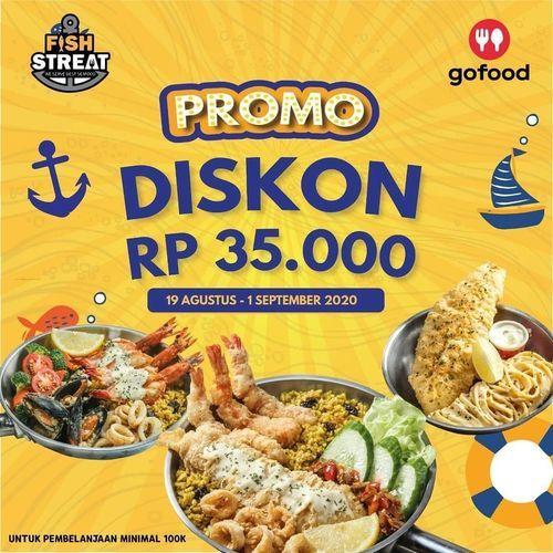 Fish Streat Promo Diskon Rp. 35.000 (27487107) di Kota Jakarta Selatan