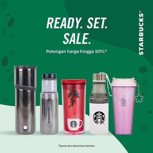Starbucks Ready. Set. Sale Potongan 50% Merchandise Official (27487111) di Kota Jakarta Selatan