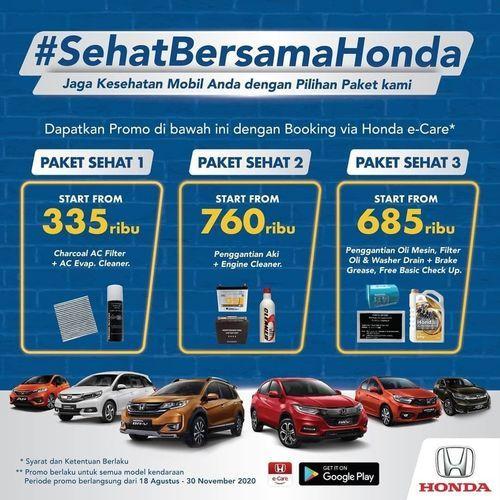 Honda Indonesia Paket Sehat Honda (27487119) di Kota Jakarta Selatan
