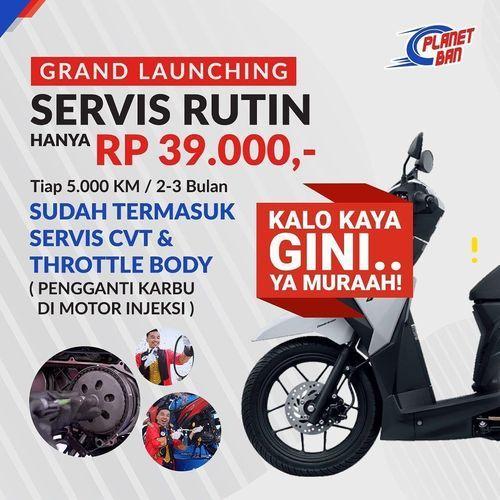 Planet Ban Grand Launching Service Rutin Hanya Rp. 39.000 (27487131) di Kota Jakarta Selatan