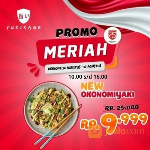 YUKIKAGE PROMO NEW OKONOMIYAKI PROMO MERIAH (27495891) di Kota Jakarta Selatan