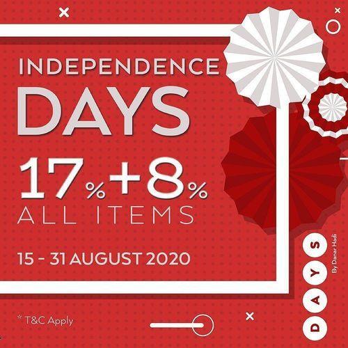 DAYS By Danar Hadi Independence Days 17% + 8% All Items (27506971) di Kota Jakarta Selatan