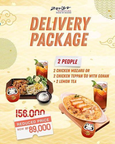 Zenbu House Promo Delivery Package (27509663) di Kota Jakarta Selatan