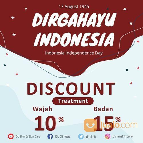 DL SLIM & SKINCARE DISC. 10% TREATMENT WAJAH 15% TREATMENT BADAN (27512571) di Kota Jakarta Selatan