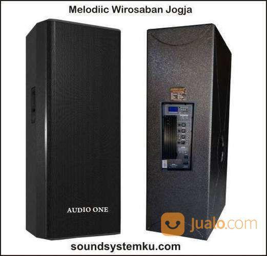Speaker Aktif 2x15 Inch Audio One Verse (27513163) di Kota Yogyakarta