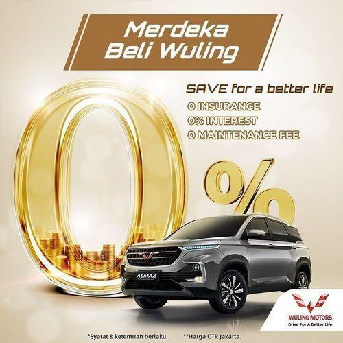 Wulings Motors ID Promo Merdeka Beli Wuling (27513275) di Kota Jakarta Selatan
