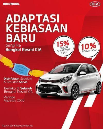 KIA New Normal Promo Up To 15% (27513335) di Kota Jakarta Selatan