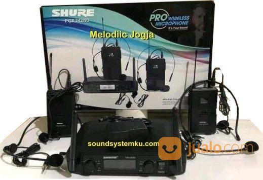 Mic Wireless Clipon Shure PGX (27513967) di Kota Yogyakarta