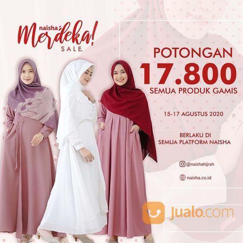 NAISHA HIJRAH POTONGAN 17.800 SEMUA PRODUK GAMIS (27514335) di Kota Jakarta Selatan