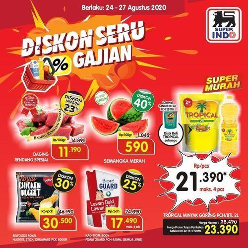 Super Indo Supermarket Promo Diskon Gajian (27514691) di Kota Jakarta Selatan