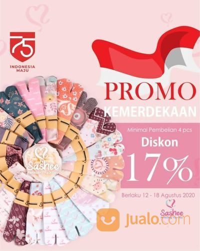 SASHEE PROMO DISKON 17% MIN. PEMBELIAN 4 PCS (27514751) di Kota Jakarta Selatan