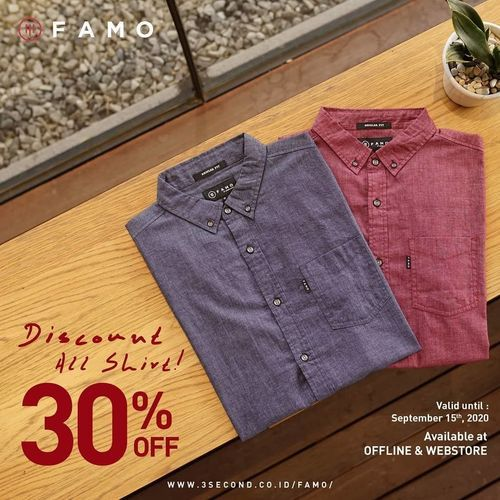 FAMO Discount 30% Off (27515083) di Kota Jakarta Selatan