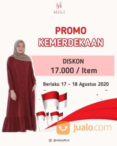 MILI OFFICIAL PROMO KEMERDEKAAN DISKON 17K / ITEM (27515839) di Kota Jakarta Selatan